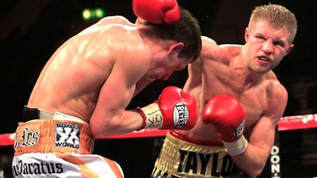 Upminster's Ryan Taylor (right) is named in the final Prizefighter line-up