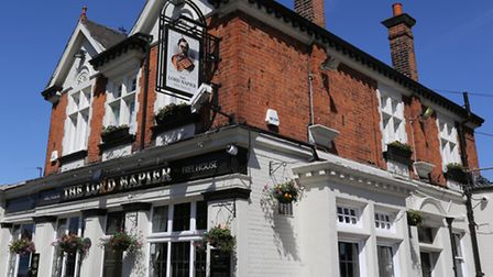 Tthe Lord Napier pub is up for sale