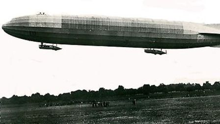 Zeppelins wrecked havoc over Britain during the First World War