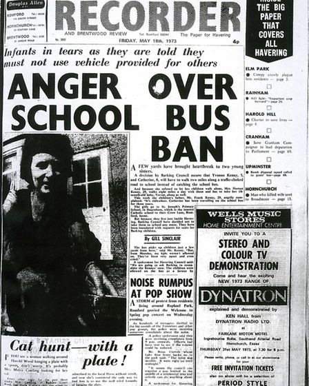 Romford and Hornchurch Recorder, May 18, 1973