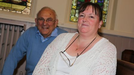 The Trinity Church in Angel way is celebrating its 125 anniversary. David Partridge and Penny Mate