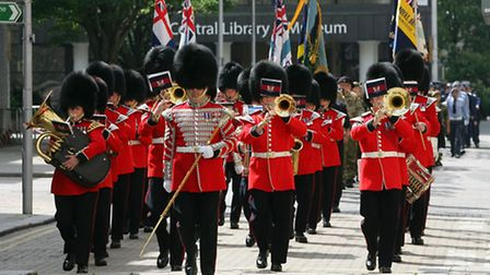 Armed Forces Day at Redbridge Town Hall, High Road, Ilford