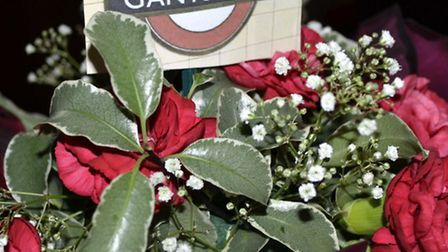 Welcome to Gants Hill station. Picture posted to iwitness24.co.uk by Ron Jeffries