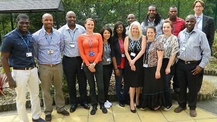 The team at the new triage ward for people who need urgent inpatient mental care