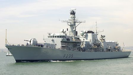 Londoners can look forward to visiting HMS Richmond which will be docking at West India Dock