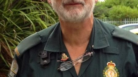 Kevin Walker has saved lives in the London Ambulance Service for 46 years.