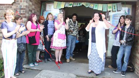 West Ham MP Lyn Brown officially opening the Forest Gate WI Village Fete.