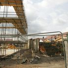 Crowlands chool playground was forced to close because of a construction site next door
