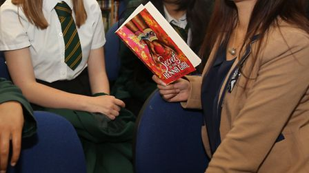 Author - Sufiya Ahmed - Secrets of the Henna Girl which is about forced marriage. She works with