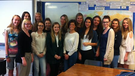 The students from Frances Bardsley Academy will be volunteering in Uganda next month.