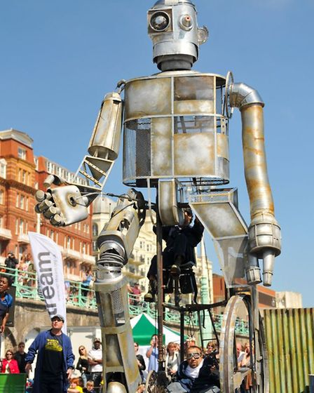 """Ted Hughes' """"The Iron Man"""" will be a main attraction at the festival."""