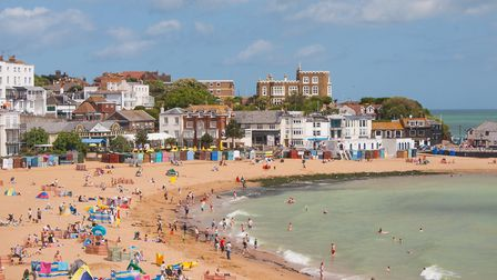 Broadstairs habour and beach, Isle of Thanet, Kent