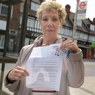 Irene Cohen with her apology letter from London Councils and her Freedom Pass
