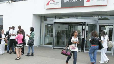 The open day at Redbridge College is from 10am-2pm
