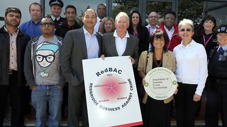 Redbridge Businesses Against Crime has been awarded for its work in the community