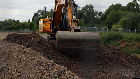 """""""Reinstatement"""" work has now started on the open fields in Hainault Forest Country Park"""