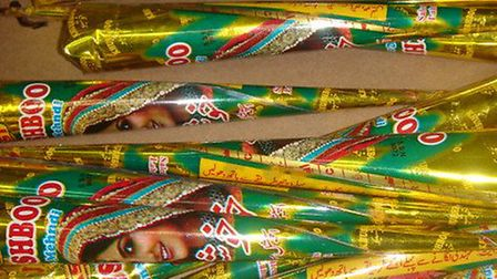 Dangerous henna ink found by Newham Trading Standards.