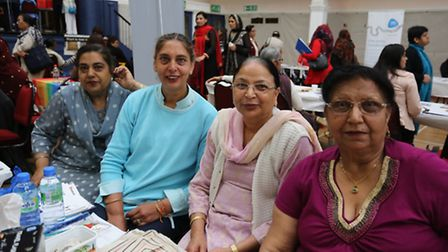 Members of the Disabled Asian Women society.