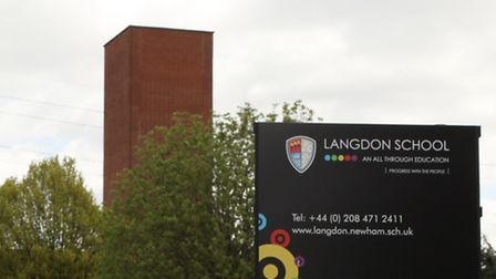 Langdon School in Sussex Road, East Ham