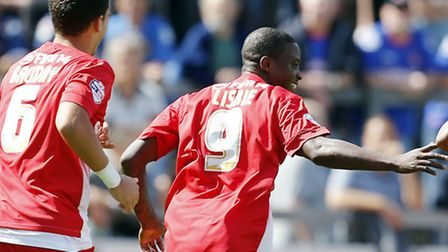 Kevin Lisbie netted Orient's late winner against Coventry (Pic: Simon O'Connor)
