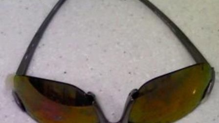 These sunglasses were found causing a blockage at Cineworld in Ilford.