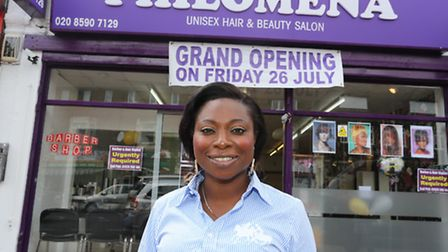 Philomena Milburn has salons in her blood, but has never run her own before