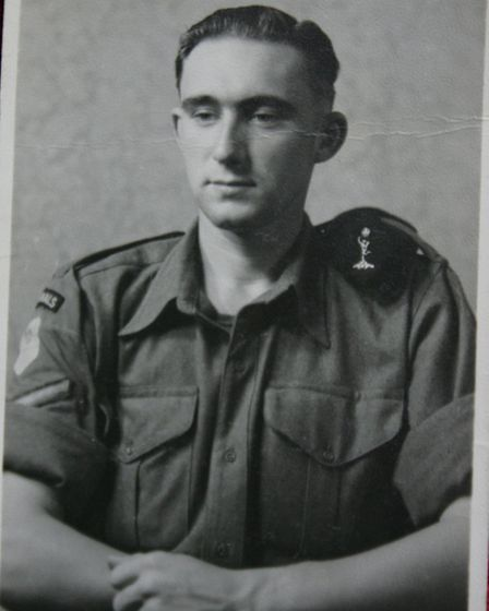 Ronald Batchelor during the war in the far east