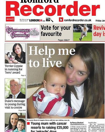 How the Recorder covered Lauren's story back in June