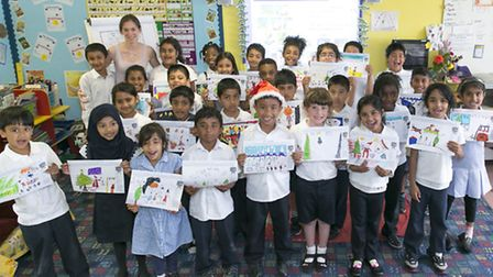 Children from Essex Primary have submitted their designs for this year's competition Picture: Stuart