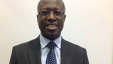 Dr Frank Chinegwundoh who is starring a TV ad to raise awareness of lung cancer