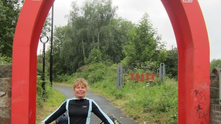 Helen Jacobs is gearing for the Pedal On Uk cycle tour.