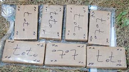 In total almost 12kg of cocaine was seized by police