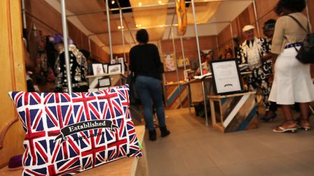 Established East London pop up shop, at Westfield Stratford City shopping centre, shows the work of