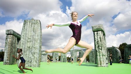 """Jeremy Deller's """"Sacrilege"""" is coming to Stratford this month."""