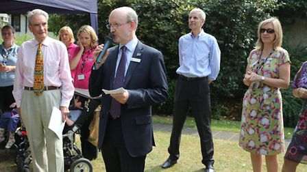 Chief executive of Haven House, Mike Palfreman, thanks everyone for their help over the last 10 year
