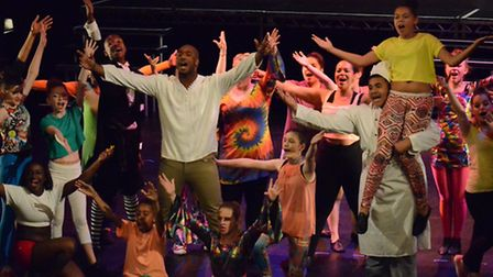 Students from Make Believe Studios in Barkingside took part in an end of year performance over the w