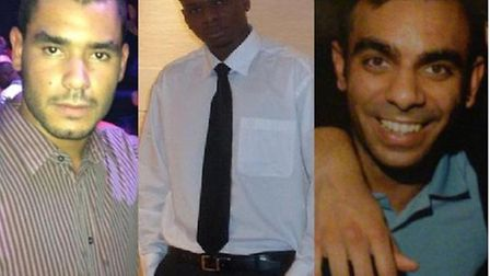 Grant Cameron, Karl Williams, and Suneet Jeerh are being held in Dubai on drugs charges.