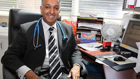 Dr Mehta is the head of the new Redbridge Clincal Commissioning group.