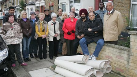 Residents of Guildford Road, Ilford are concerned about the level of fly tipping happeneing in their