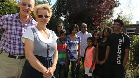 Heike Costin and husband Roger, the Acharya family and the Sesh family all oppose the plans