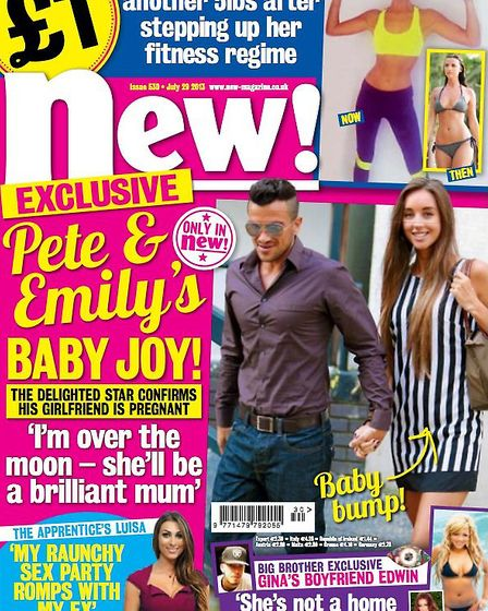 Stacey told new! magazine she'd love to have a little girl.