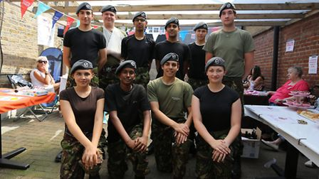 Cadets from 2324 Chigwell air cadets