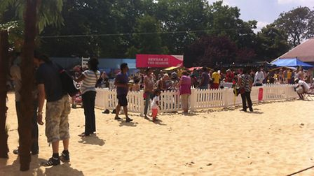 Although residents enjoyed themselves at the Newham Beach at the Mayor's Newham Show, now they need