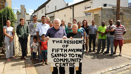 Residents of Fith Avenue, Manor Park