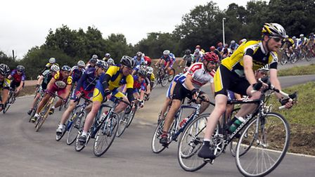A race at Redbridge Cycling Centre