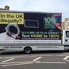 The van being used as part of the Home Office project