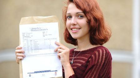 Mia Smith, who was awarded an A* and two A's will now go on to study classics at Oxford University