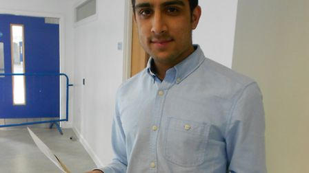 Star pupil Shuaib Chowdhary achieved four A* grades and is going to study economics at Cambridge