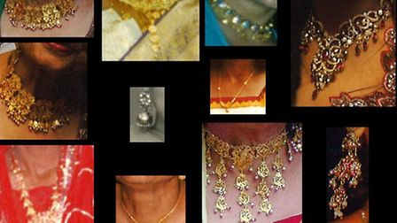 Some of the jewellery that was stolen from a house in Upminster earlier this month