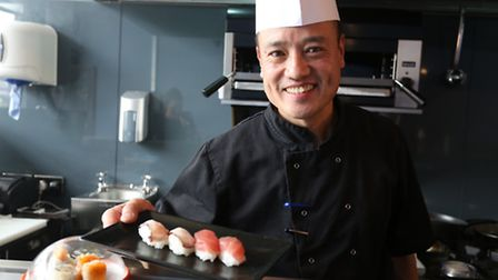 Sumo fresh restaurant is a new sushi restaurant in Wanstead Chef Philip with sushi